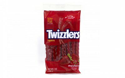 Twizzlers Strawberry Twists - American Sweets - 198g