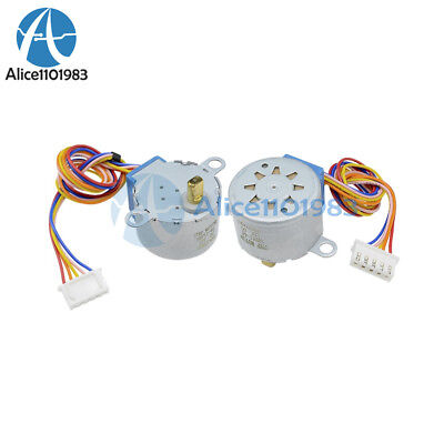 10PCS 28BYJ-48 Valve Gear Stepper Motor DC 12V 4 Phase Step Motor Arduino