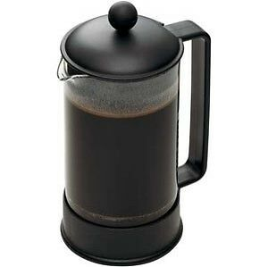 Bodum Brazil 8-Cup French Press Coffee Maker 34-Ounce Black NEW