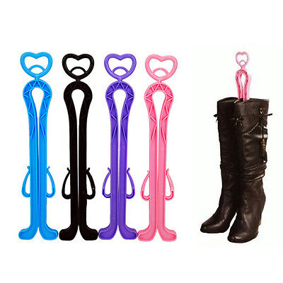 New Long High Boots Shoes Shape Plastic Supporter Keeper Holder Storage Hanger