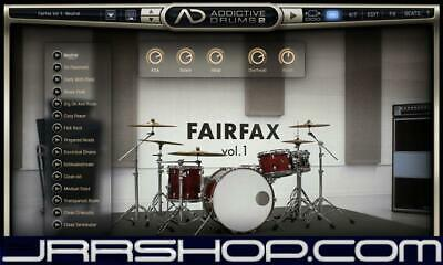 XLN Audio Addictive Drums 2:   Custom eDelivery JRR Shop