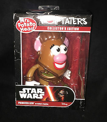 Mr Potato Head - Pop Taters - Princess Leia - Star Wars - Collector's Edition