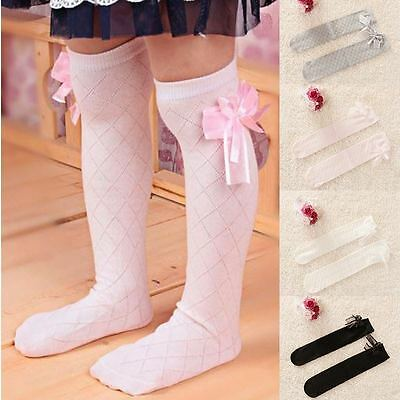 New Pretty Toddler Baby Kids Girl Cotton Lace Knee High Socks 1 years to 6 years
