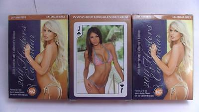 Playing Cards HOOTERS Calendar 16th Edition Series 1 (3 DECKS) ALL Sealed NIP