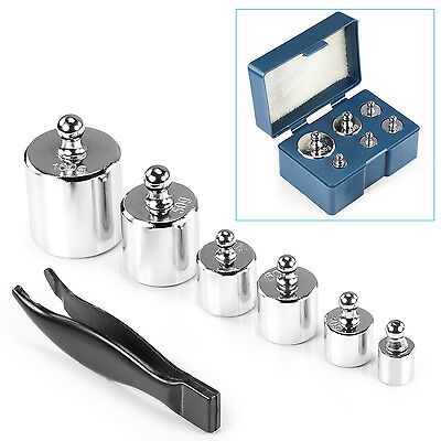 Neewer Silver 205 Gram Precision Steel Balance Scale Calibration Weight Kit Set