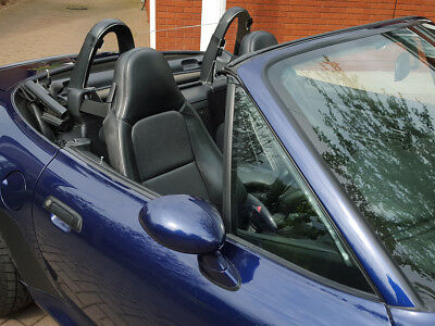 Bmw Z3 Wind Deflector Clear To Fit Standard Roll Bars