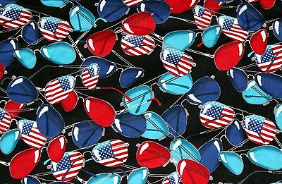 NEW Scrubs ~ Print Scrub Top ~ 4X ~ Shades of Stars & Stripes