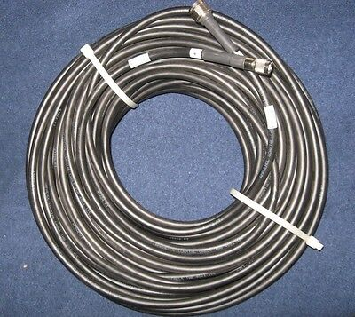 Amphenol coaxial cable twb 4001 162 foot. N style to TNC.