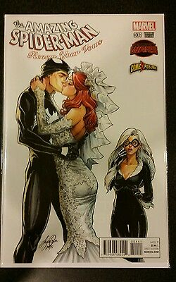 Amazing Spiderman Renew Your Vows 4 Comicxposure 606 Campbell Variant Nm