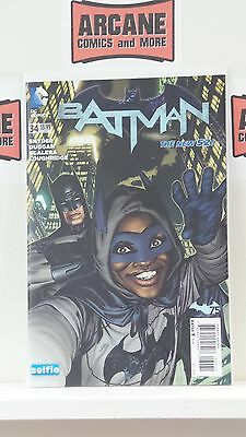 Batman #34 Sook DCU Selfie Variant Cover 1st Print NM 9.4 DC Comics New 52 2014