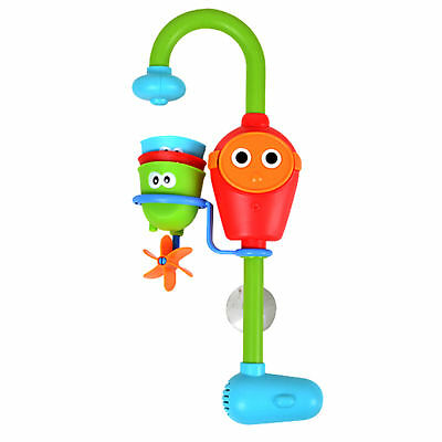 Cute Cartoon Flow Faucet Funny Spout Bath Toy Set Lave Toy For Baby Learning New