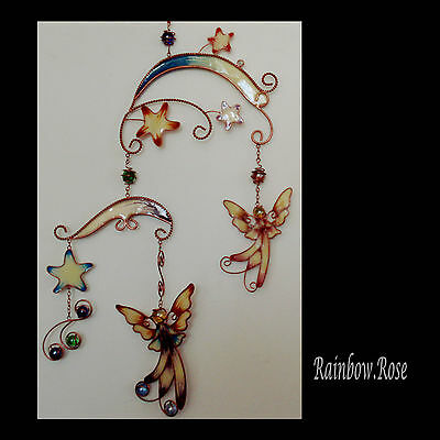Mobile #39 Glow in the Dark ANGELS / Fairy Stars 70cm long