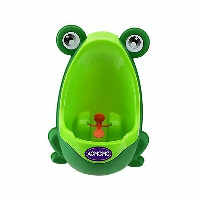 HAPPYMALL loverly Frog Baby Toilet Training Children Potty Urinal Pee Trainer