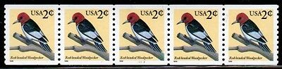 #3045 Red Headed Woodpecker  PNC-5  Pl #2222  - MNH