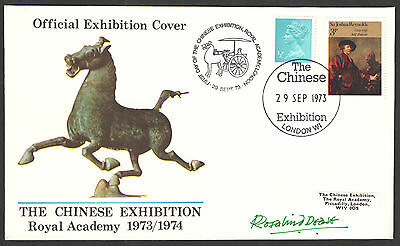 1973 Chinese Exhibition Commemorative Cover Autographed by Rosalind Deese.