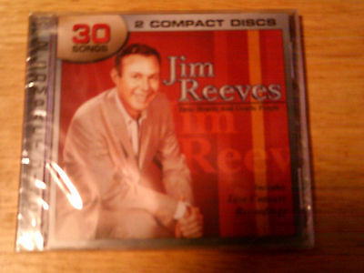 2 Music CDS JIM REEVES Dear Hearts & Gentle People Live Concert Recordings NEW