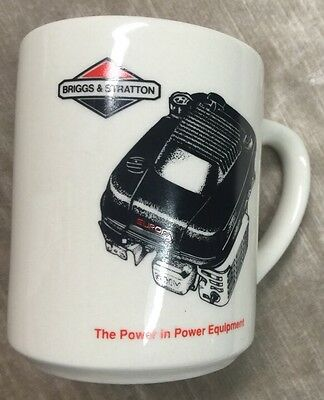Advertising Coffee Cup Mug Briggs & Stratton 1992 Wisconsin Magneto