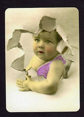 WIDE Swap/Playing Card -  Cute Baby
