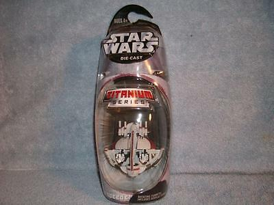 Swamp Speeder Titanium Series Die-Cast Star Wars 2005 Hasbro Micro Machines