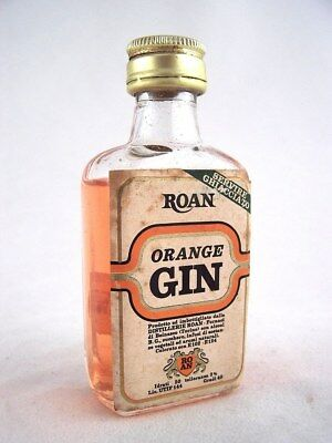 Miniature circa 1980 ROAN ORANGE GIN ITALIAN Isle of Wine • AUD 19.95