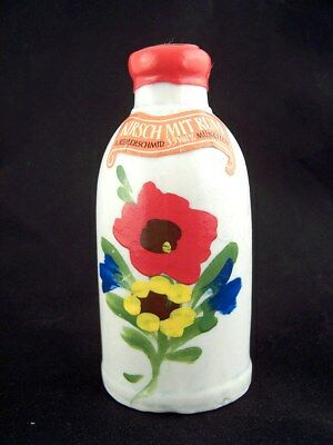 Miniature circa 1978 RIEMERSCHMID KIRSCH MIT RUM Ceramic Isle of Wine