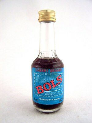 Miniature circa 1976 BOLS CHERRY BRANDY Isle of Wine