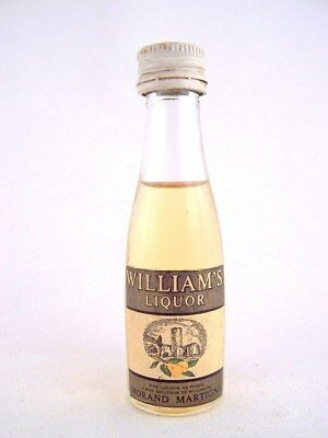 Miniature circa 1968 MORAND MARTIGNY WILLIAM'S Liqueur Isle of Wine