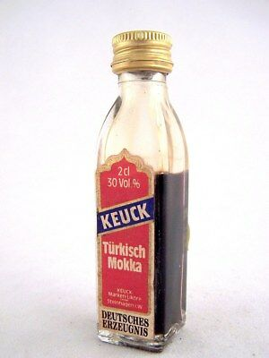 Miniature circa 1975 KEUCK TURKISH MOCHA Isle of Wine