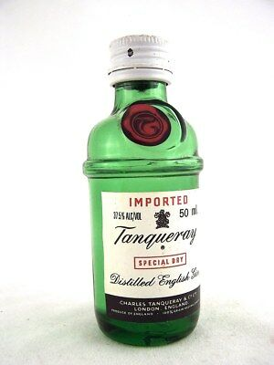 Miniature circa 1984 TANQUERAY ENGLISH GIN Isle of Wine
