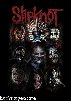 Slipknot Nine Faces Paul Gray 29X43 Cloth Poster Flag Fabric Wall Tapestry-New!