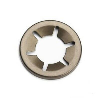 Steel Push On Flat Clip Grab Starlock Washers uncapped - 2mm to 20mm