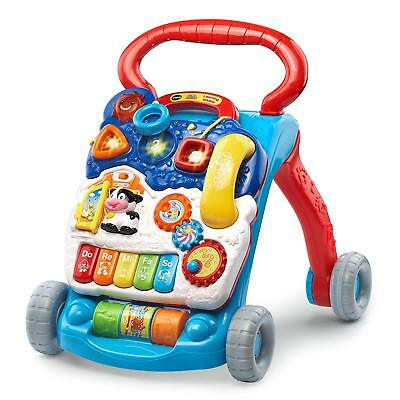 NEW! VTech Sit-to-Stand Learning Walker Developmental Baby Toy Interactive Music