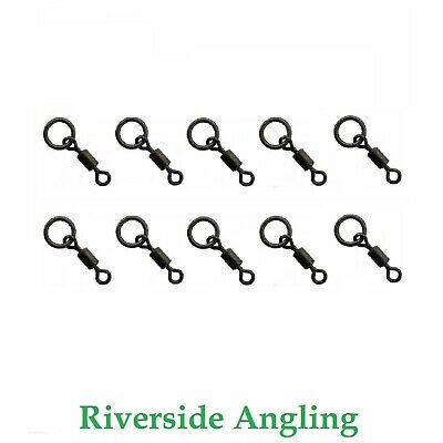 Micro Hook Swivel Size 22 Flexi Ring X10 Carp Fishing Tackle Terminal Tackle