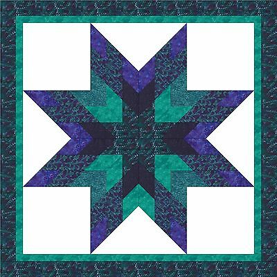 TWIST-A-WHIRL STAR - Not Quilted