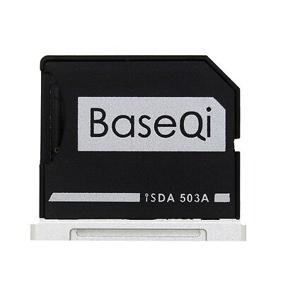 BASEQI Aluminum miniDrive : MicroSD Adapter for Macbook Pro Retina 15 (iSDA503A)