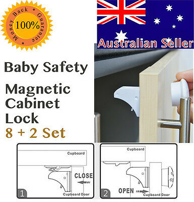 Baby Safety Equipment Cupboard  Magnetic Cabinet ChildLock