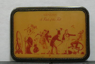 GENESIS A Trick Of The Tail 1976 US Promo Only BELT BUCKLE Masterpiece GABRIEL