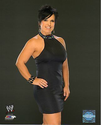 """WWE PHOTO VICKIE GUERRERO 8x10"""" OFFICIAL WRESTLING PROMO"""