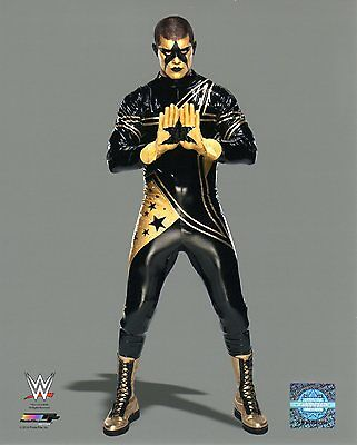"WWE PHOTO STARDUST CODY RHODES STUDIO 8x10"" OFFICIAL WRESTLING PROMO"