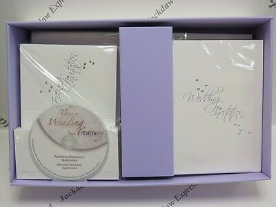 Wedding Stationery Invitation Cards Inserts Envelopes Place Cards & CD Package