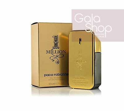 Paco Rabanne One 1 Million Eau De Toilette 50Ml Profumo Uomo Edt Natural Spray