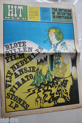 Hitweek # 52 10 Sept. Outsiders The Seeds Mod Freakbeat Psych 60'S Paper