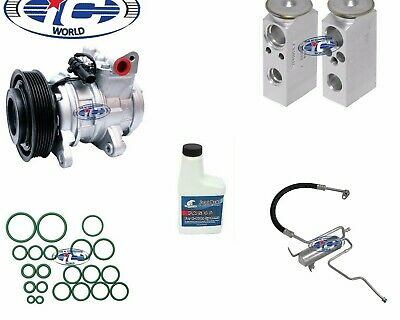 2002-2004 Jeep Grand Cherokee 4.0L New A//C AC Compressor Kit