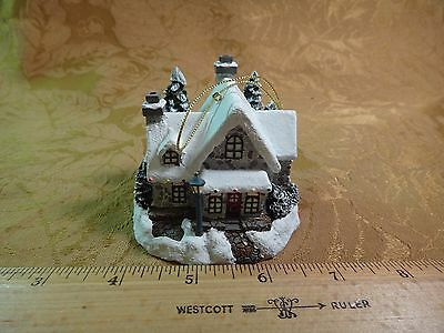 Thomas Kinkade's Winter Memories - Santa's Workshop Toys 38760 - Ornament