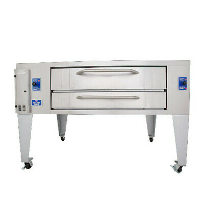 Bakers Pride Y-800BL Gas Single Deck Pizza Oven