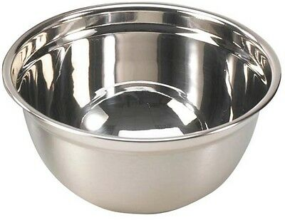 Large 6 Litre Stainless Steel Mixing Bowl 31cm Professional Range