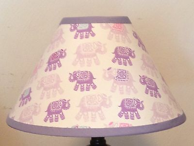 Stella Elephant Fabric Children's Lampshade M2M Pottery Barn Kids Bedding