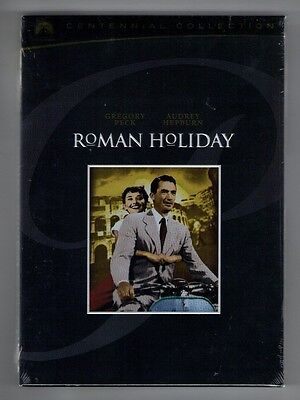 ROMAN HOLIDAY new dvd AUDREY HEPBURN GREGORY PECK - CENTENNIAL COLLECTION