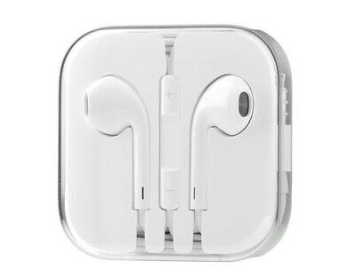 20x New Authentic OEM Apple Earpods W/ Remote & Mic For iPhone 6S 6 Plus 5S 5C 5