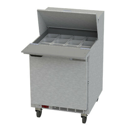 Beverage-Air Bev Air SPE27HC-12M-B Refrigerated Food Prep Table Mega Top